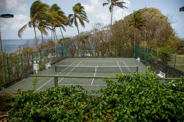 Tennis on Young Island
