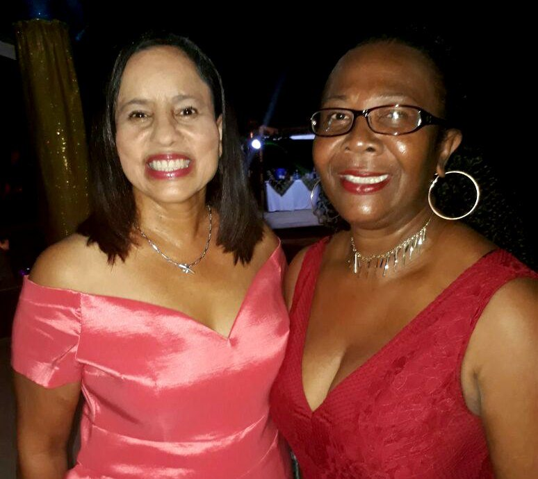 GM Bianca Porter and Louann Robinson