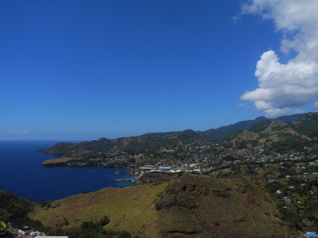 Ariel View from Fort Charlotte