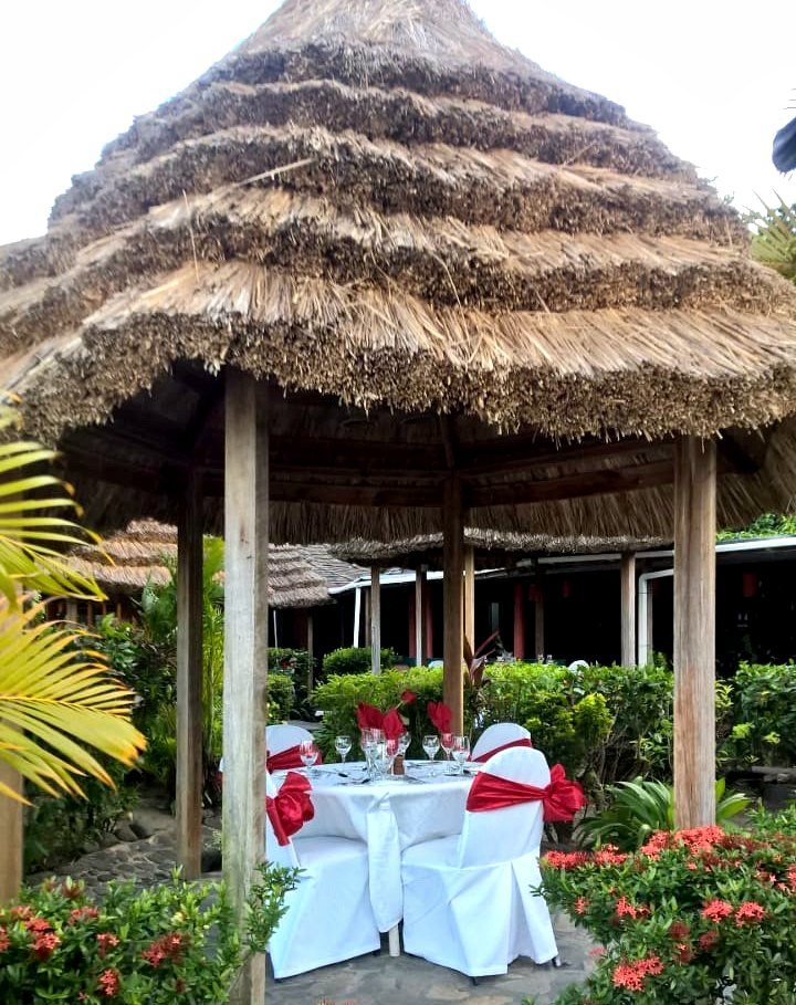 A Festive Display for Valentine's Day at Young Island